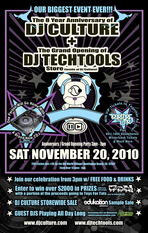 DJ TechTools Store Front Open For Business! - DJ TechTools