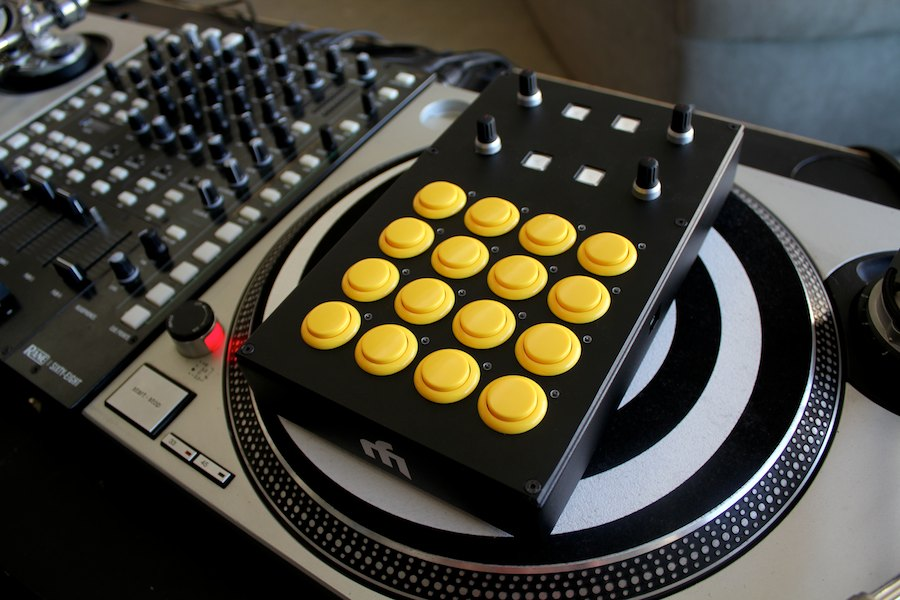 introducing the midi fighter pro controllers dj techtools. Black Bedroom Furniture Sets. Home Design Ideas