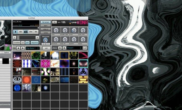 Screenshot from a Live DNA session midi synced to Traktor