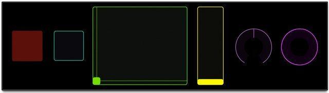 TouchOSC Control Elements