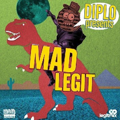 """Diplo's exclusive """"Mad Legit"""" compilation on Legitmix"""