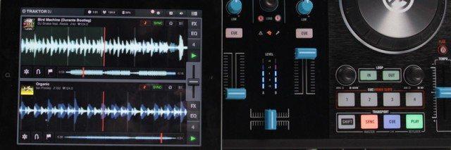 Traktor DJ for iPad + Kontrol S2 MK2