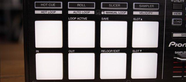 The DDJ-SP1's pad controls