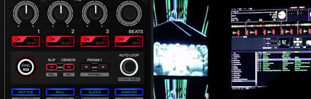 Serato Video DJs in mind with this controller..