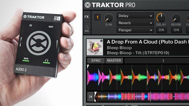 Traktor 2 6 5 Micro Update + Audio 2 MK2 Soundcard - DJ