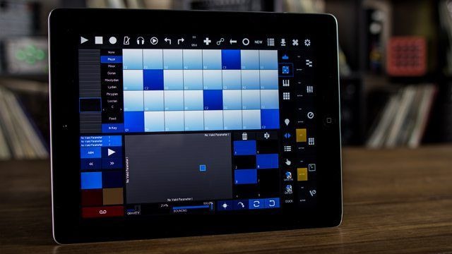 ableton push on an ipad touchable 2 review dj techtools. Black Bedroom Furniture Sets. Home Design Ideas