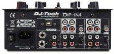 DJ-Tech DIF-1M rear panel.