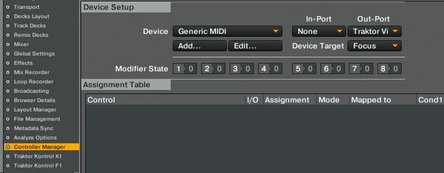 MIDI-SETUP