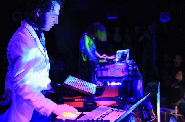 Performing at Dublab