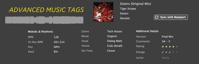 Advanced-Music-Tags
