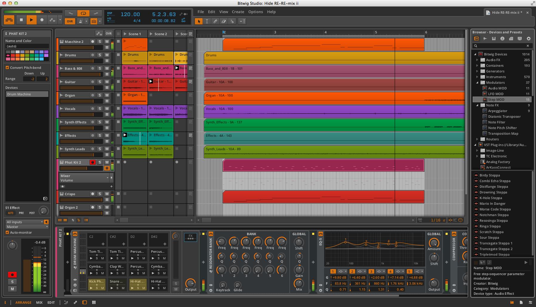 Review: Bitwig Studio Digital Audio Workstation software