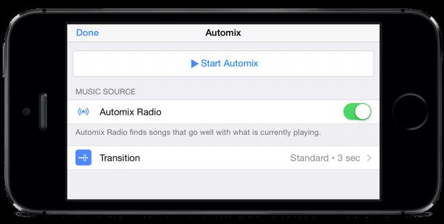 djay + Spotify Automix RadioPhone