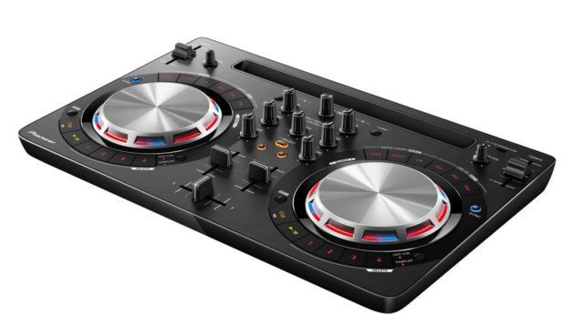 Pioneer offers the DDJ-WeGO3 for entry level and beginner DJs.