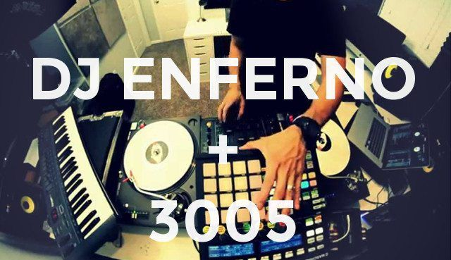DJ Enferno blends turntablism, Serato, and controllerism to remix Childish Gambino's hit 3005