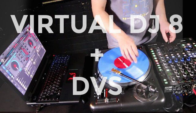 Virtual DJ 8 by Atomix is reported to have the best DVS control system on the market right now.