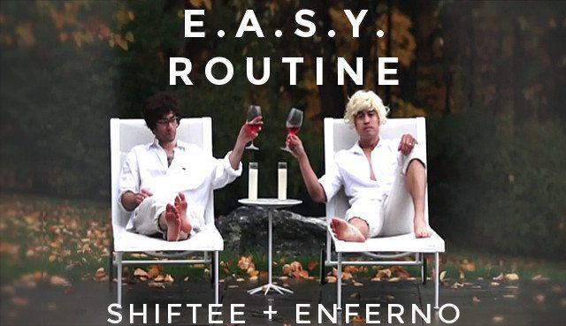 "E.A.S.Y., the DJ Shiftee and Enferno duo remixed A-Trak's single ""Push"""