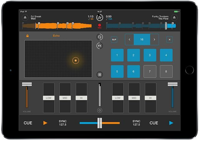 Cross DJ 2.0 for iOS