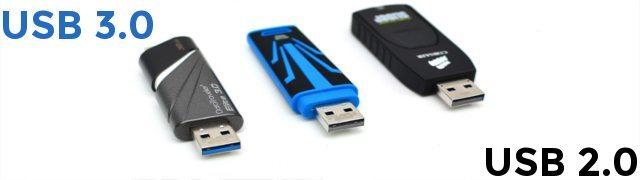 USB 2.0 VS 3.0