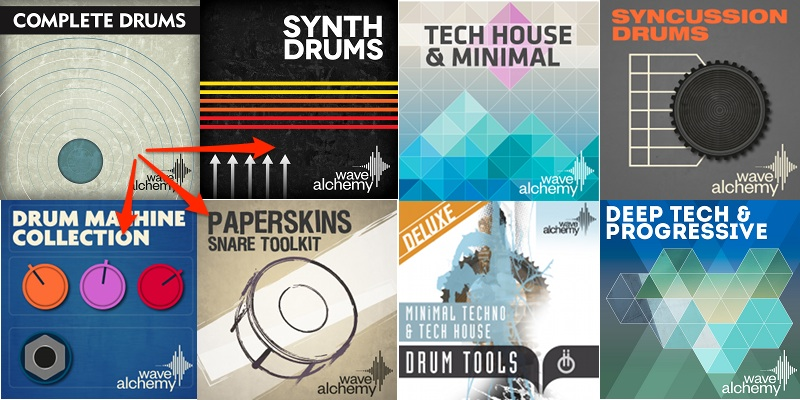 Drum Sample Heaven: 4 Drum Collections Compared - DJ TechTools