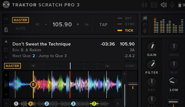 A mockup of what Traktor Pro 3 might look like by Joseph Cornelia (click for more images)