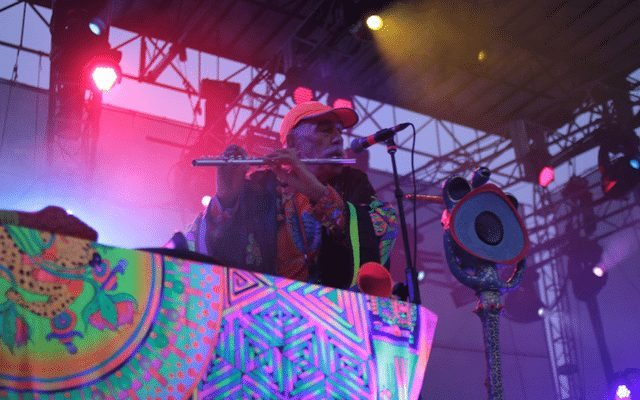 Raja Ram of Shpongle at Camp Bisco © digboston | Flickr