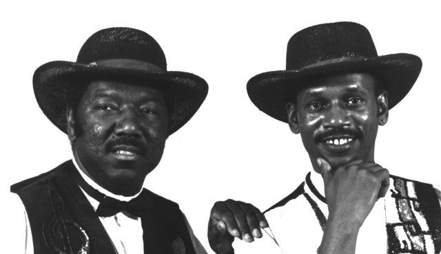 Richard Spencer (left) and George C. Coleman (right) are the Amen brothers behind the breakbeat.