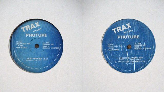 Phuture Acid Tracks - Trax 142 © Dplanet | Flickr-2