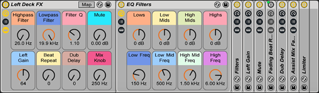 NI could easily make effects  this powerful in Traktor.. but Ableton wins here!