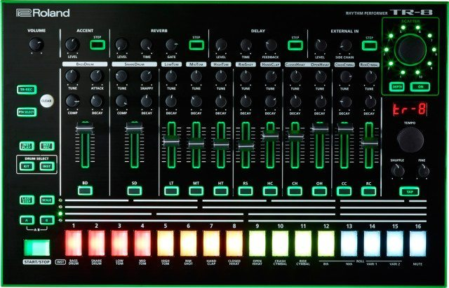 Map your MIDI controller to the TR-8's effects section - why not?