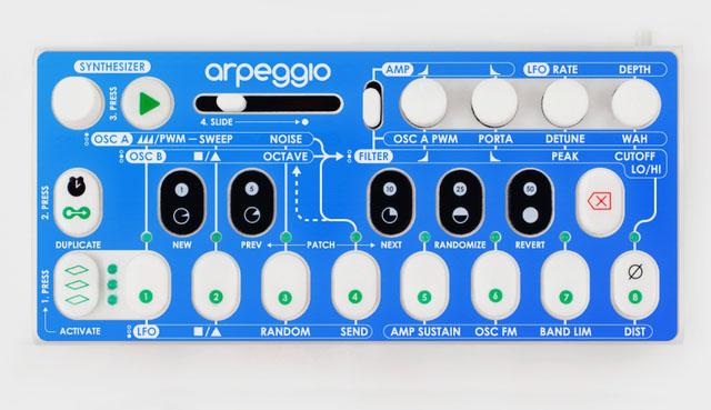 Arpeggio: Modular Arpeggiator, Sequencer, and Synthesizer