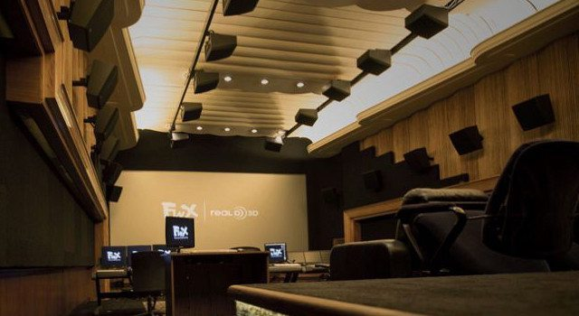 A Dolby Atmos enabled studio