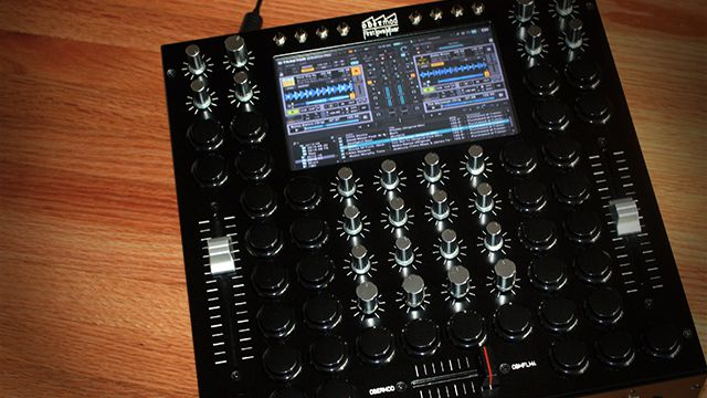 OBMFLM4: Is This DIY Project A Vision Of Future DJ Mixers