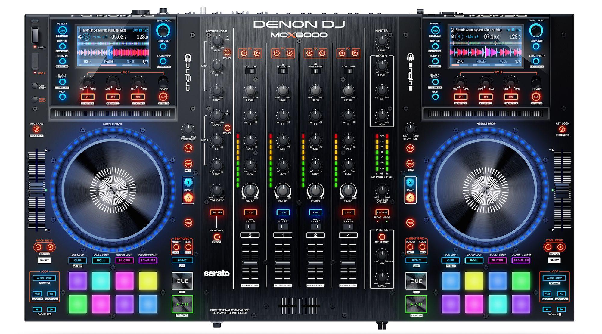 Denon DJ MCX8000 Top