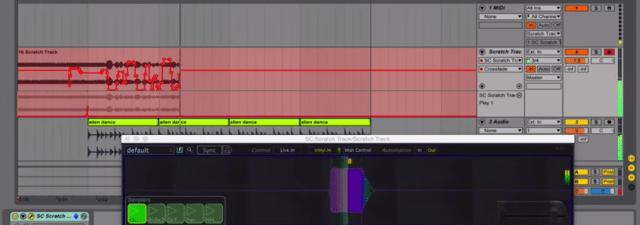 Scratch Track Automation