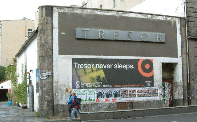 Tresor's exterior. Photo credit: