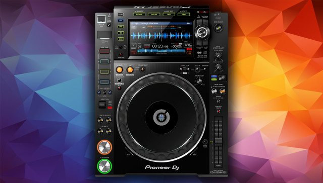The new CDJ - click to zoom for a full-size view.