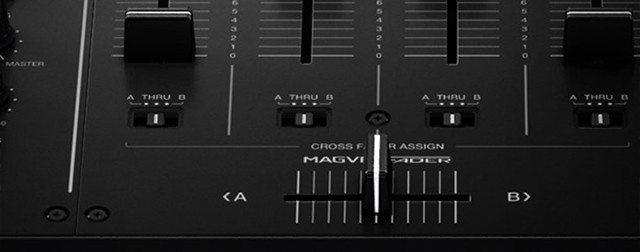 DJM-900NXS2 Crossfader