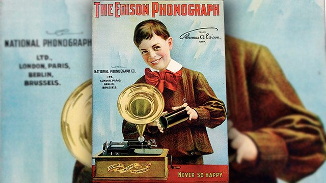 The Edison Phonograph, 1901 © Jalal Gerald Aro _ Flickr