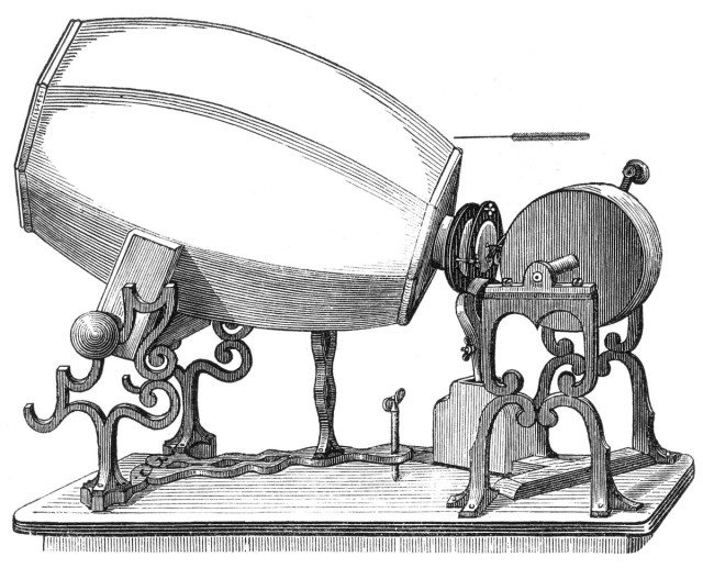 Phonautograph by E?douard-Le?on Scott de Martinville, 1859 © Public Domain