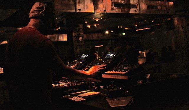 A shot from last week's CDR at Prince Charles in Berlin