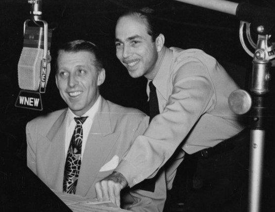 Martin Block and Stan Kenton (public domain image)