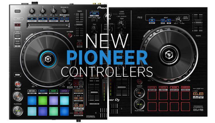 Pioneer DJ DDJ-RB and DDJ-RR