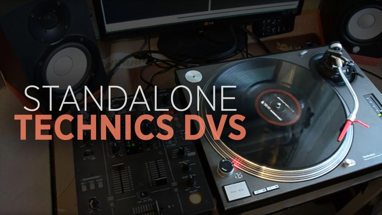 Technics 1200 Mod: Standalone DVS Player - DJ TechTools