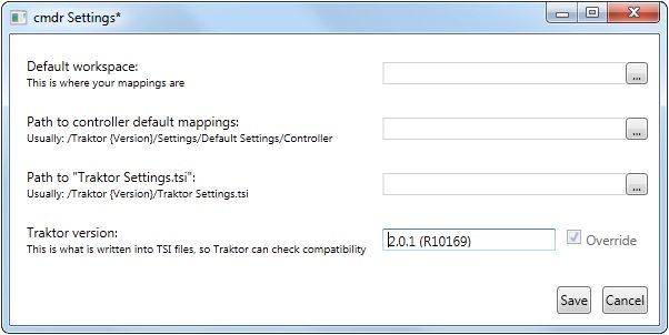 2 - configuration settings