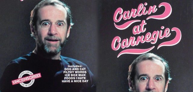 An early George Carlin standup special VHS