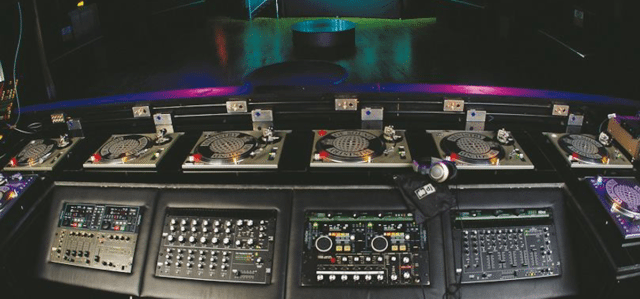 The old layout in a Ministry Of Sound booth - pretty difficult to modify. (Photo credit: Ministry Of Sound)