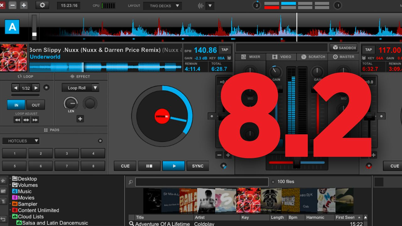 Virtual DJ 8 2: Custom Pad Controls,