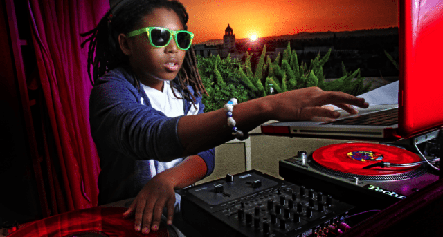 Lil Jon's son, pictured, put out a mixtape at age 12.