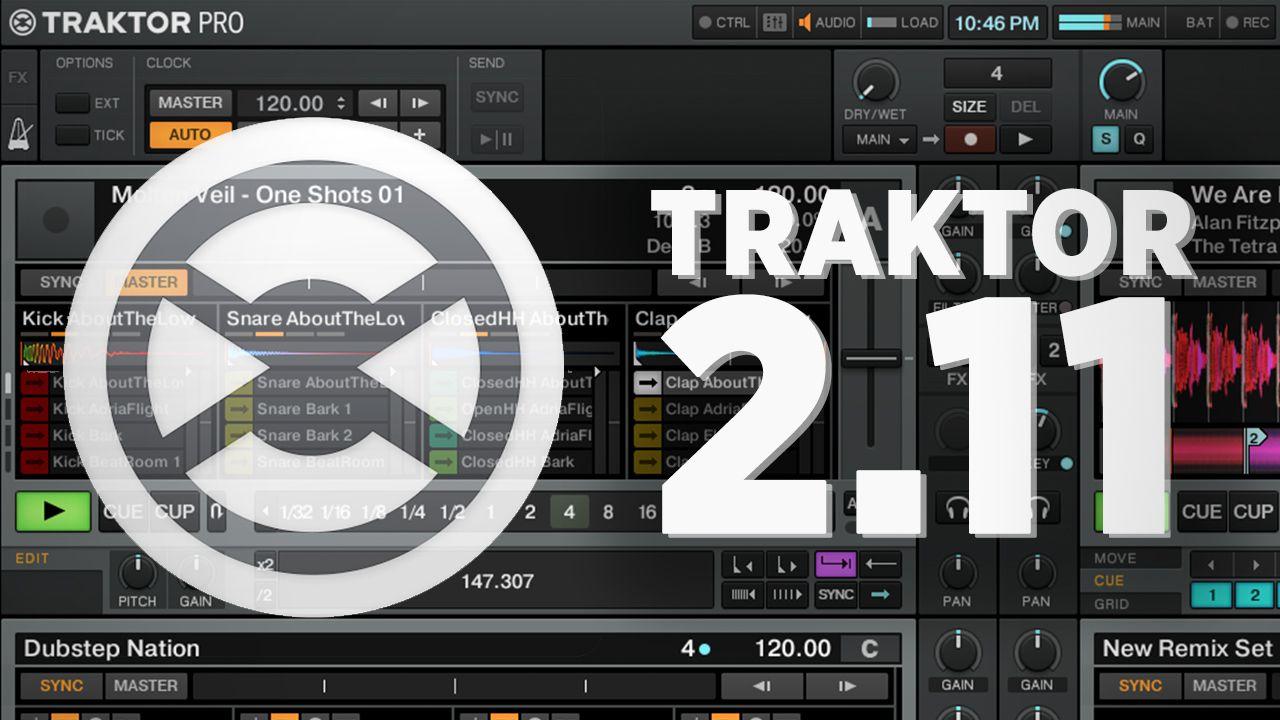 Traktor 2 11 mac   TRAKTOR PRO 2 11 Crack [Mac + Windows