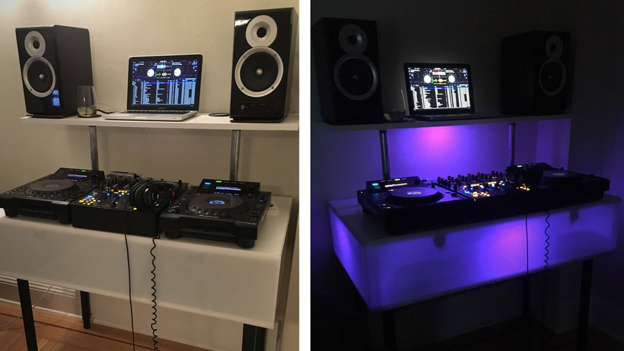 DIY: How To Build A Light Up DJ Booth - DJ TechTools